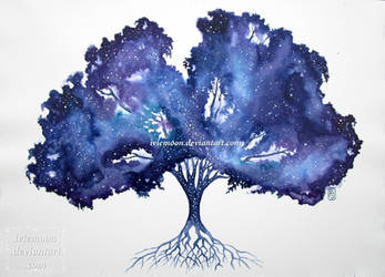 Tree of the Cosmos by IvieMoon