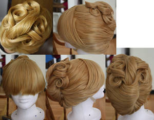 Cinderella 1.0 Wig Commission