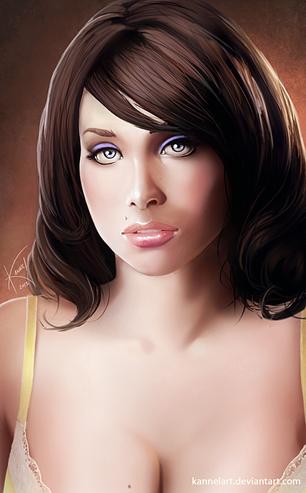 Sarina Valentina by KannelArt on DeviantArt