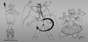 Picarto Sketches