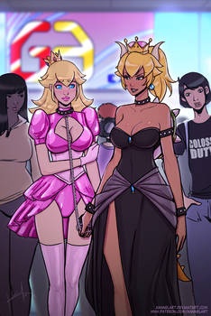 Raan's Doll: Bowsette and Peach!