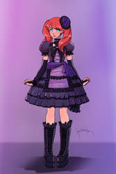 Sipher Gothic Lolita (Old Commission Update)