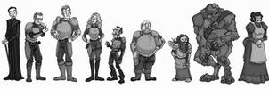 Discworld Watch Lineup by Ligeias-Ghost