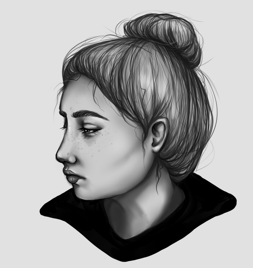 Self portrait by Karuuplz