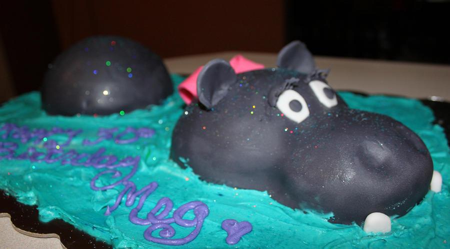 Happy Happy Hippo Birthday Cake By Picworth1000wrds On Deviantart