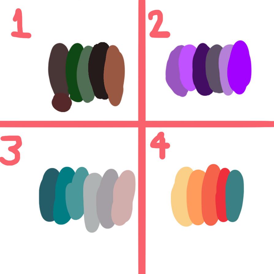 Palettes adopt by theninjanerd