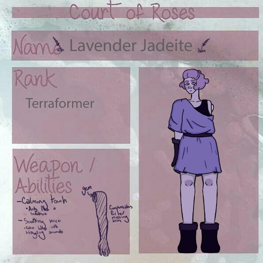 Lavender Jadeite by theninjanerd