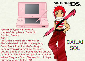 My DS- Dailai Sol by Anasatcia