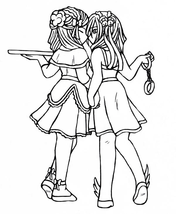 spice girl coloring pages - photo#4