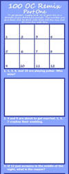100-OC-REMIX Challenge Pt1 by Anasatcia