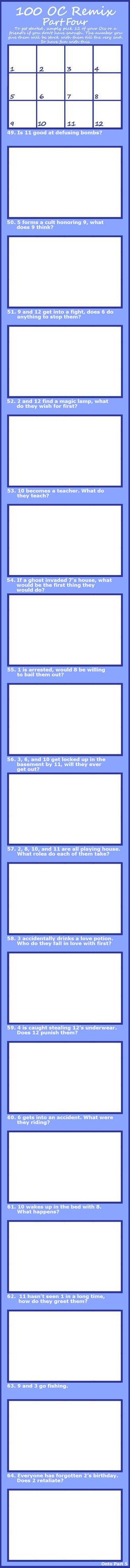 100-OC-REMIX Challenge Pt4 by Anasatcia
