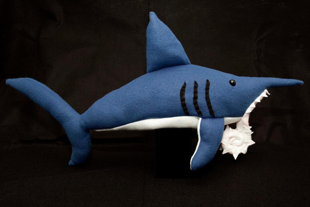 Whorl Tooth Shark Plush By Paleogirl On Deviantart
