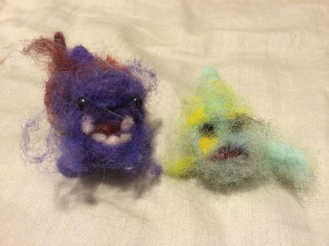 RIP Needle Felted Friends