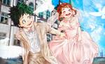 Wedding-Boku no Hero Academia [fanart]