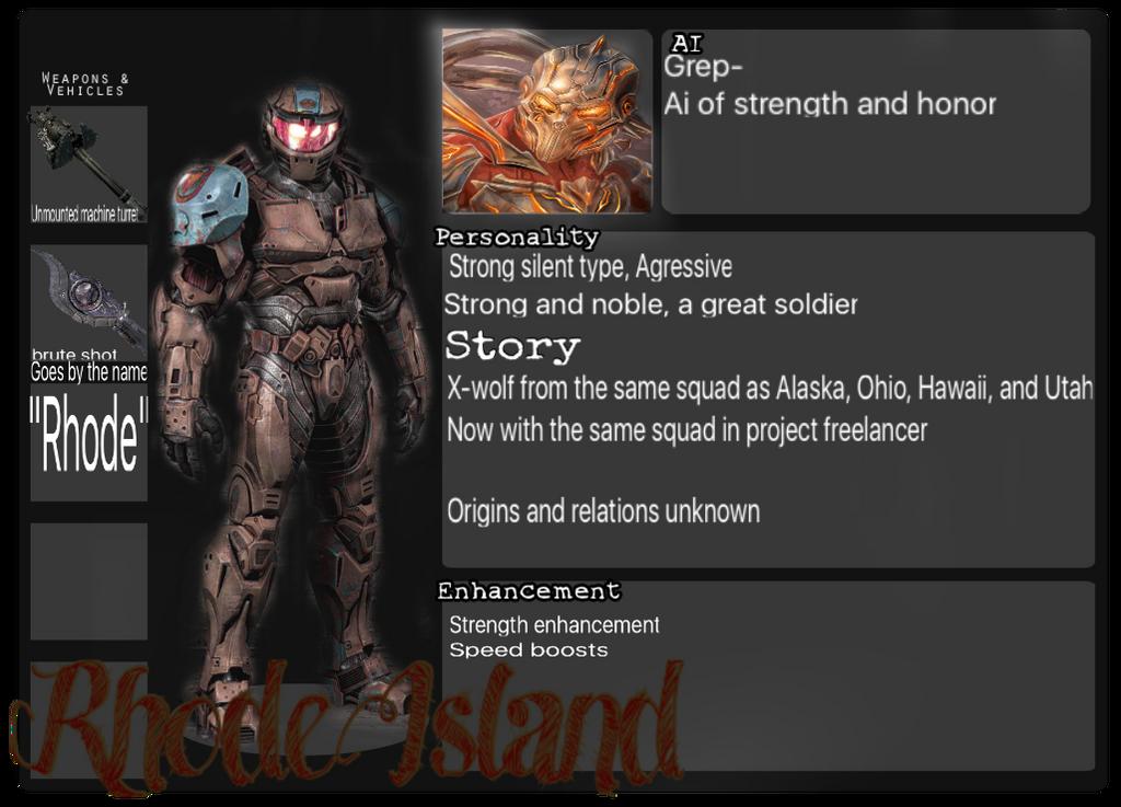 Agent Rhode Island Rvb Project Freelancer By Agent 0 Alaska On