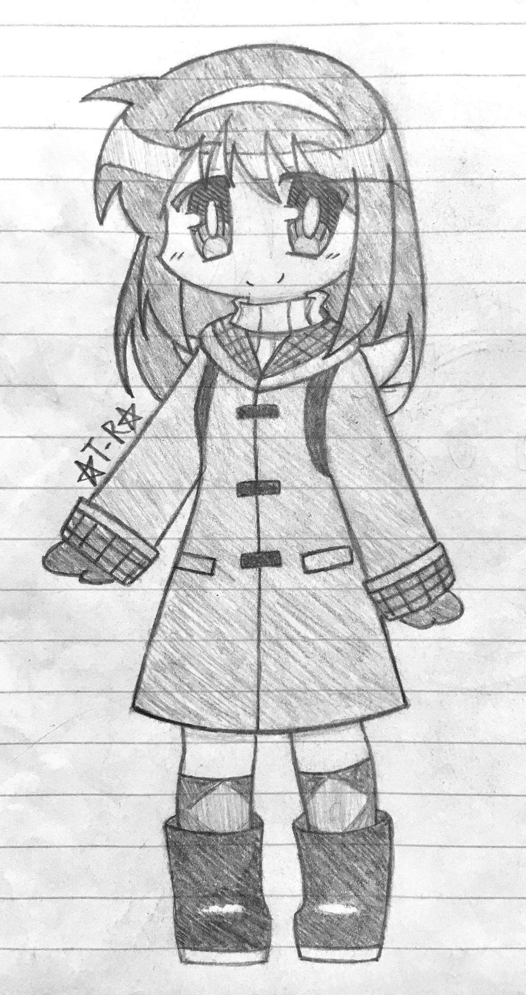 Ayu Tsukimiya Sketch by Taiyo-Renai