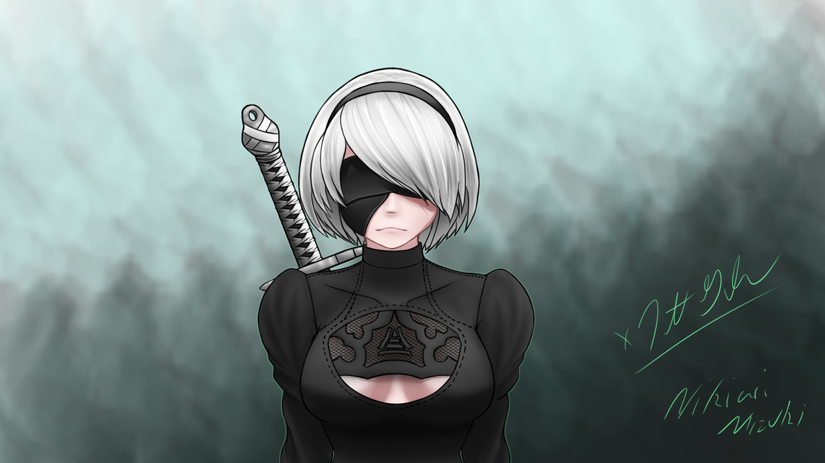 2B coloring V2 by Unknownghost156