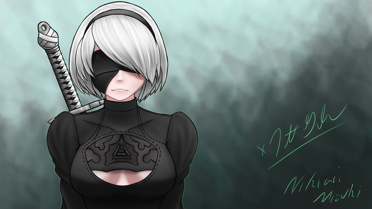 Nier Automata V2 by Unknownghost156