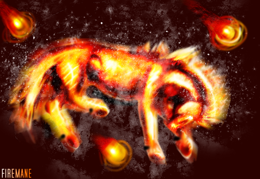 Firemane by sketchthestars