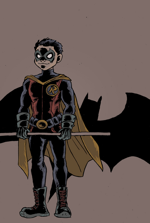 Robin - Damien by TeamSmithy