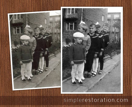 Old and Damaged Photo Repair 2