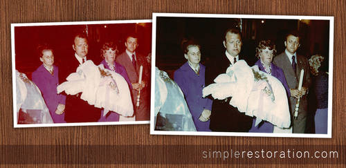 Old and damaged Photo Repair 3