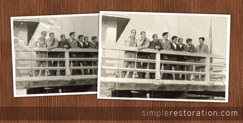 Old and damaged Photo Repair 4