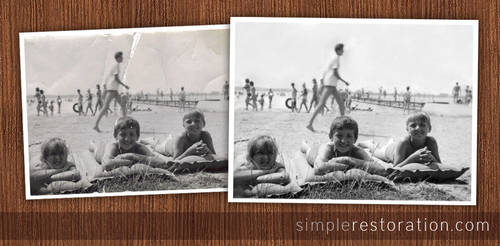 Old and damaged Photo Repair 5
