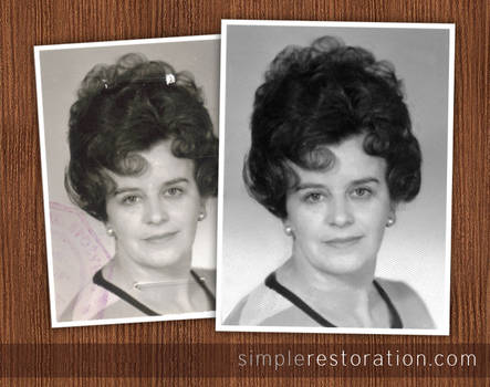 Old and damaged Photo Repair 6