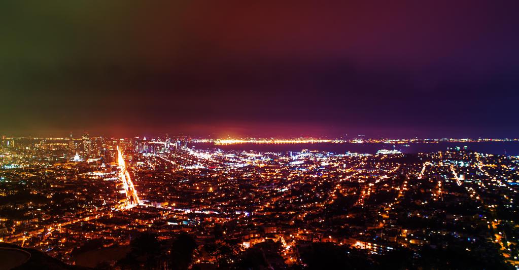San Francisco Skyline by exxodium