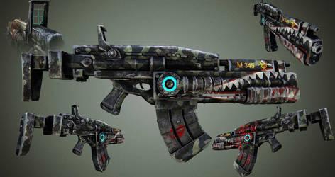 Sci-Fi Marine Weapons