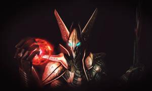 black armor by GAMERAS