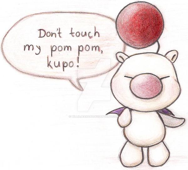 don_t_touch_my_pom_pom__kupo_by_billieje