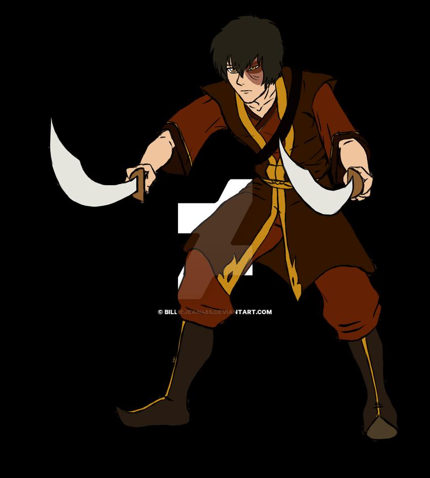 Zuko - Dual Dao Swords (Raw Color) by BillieJean485 on DeviantArt