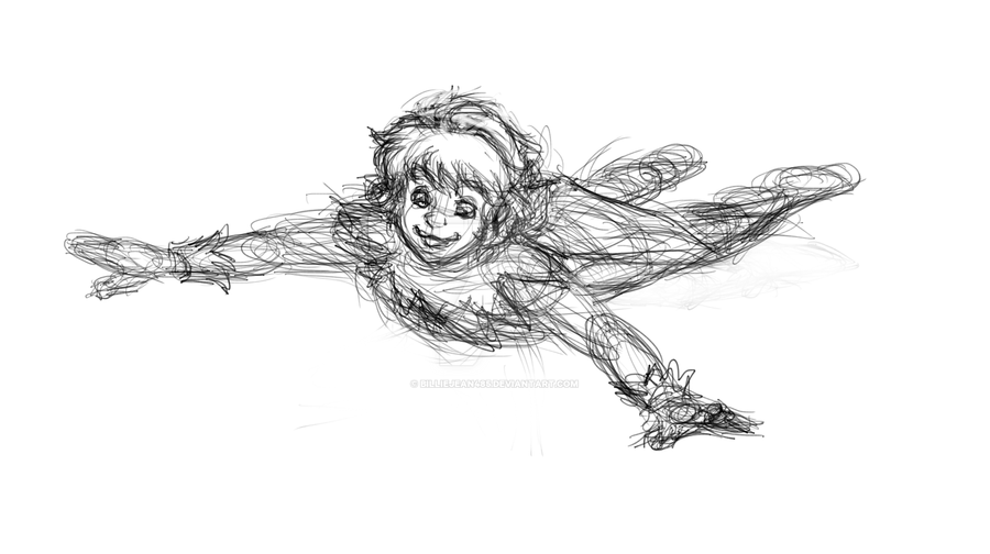 Fox's Peter Pan (my first try) by BillieJean485