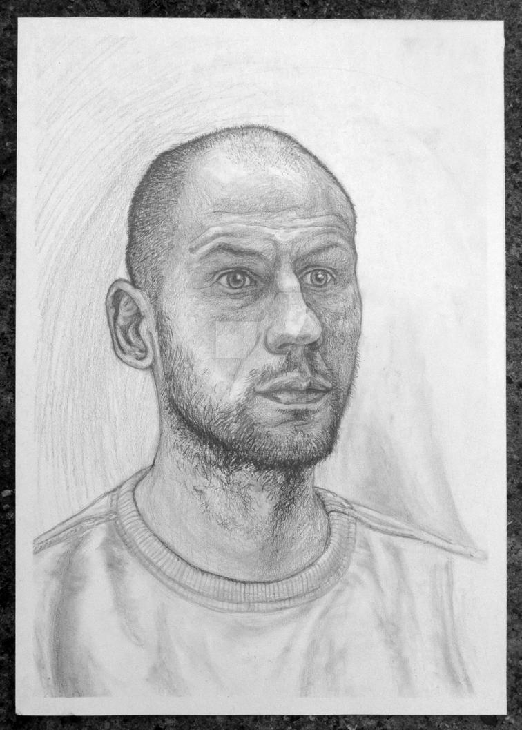 First Model Portrait by BillieJean485