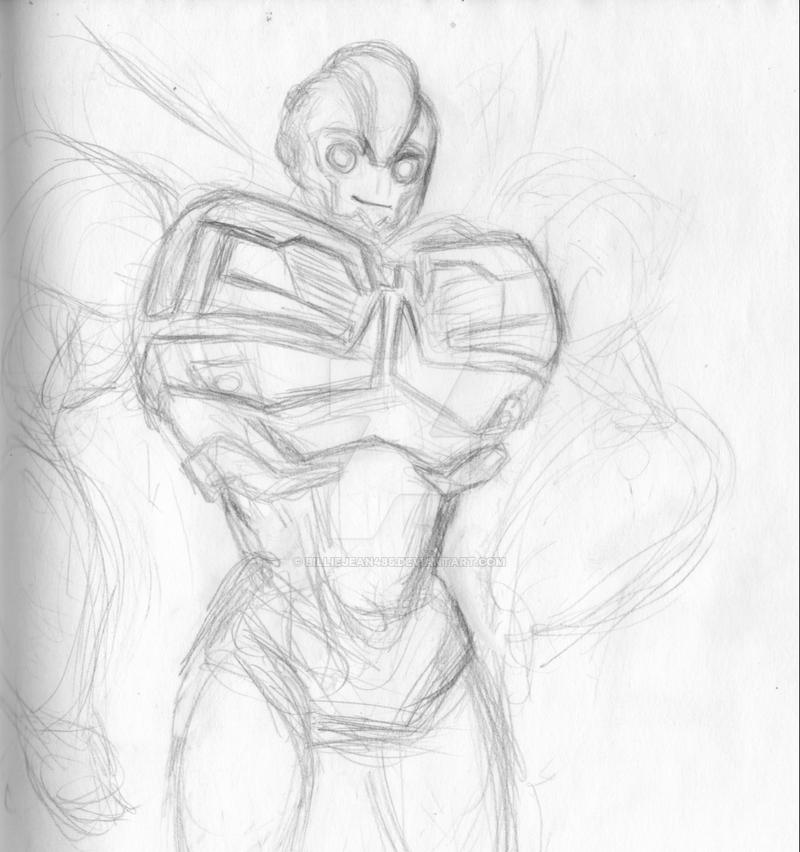 Bee sketch WIP by BillieJean485