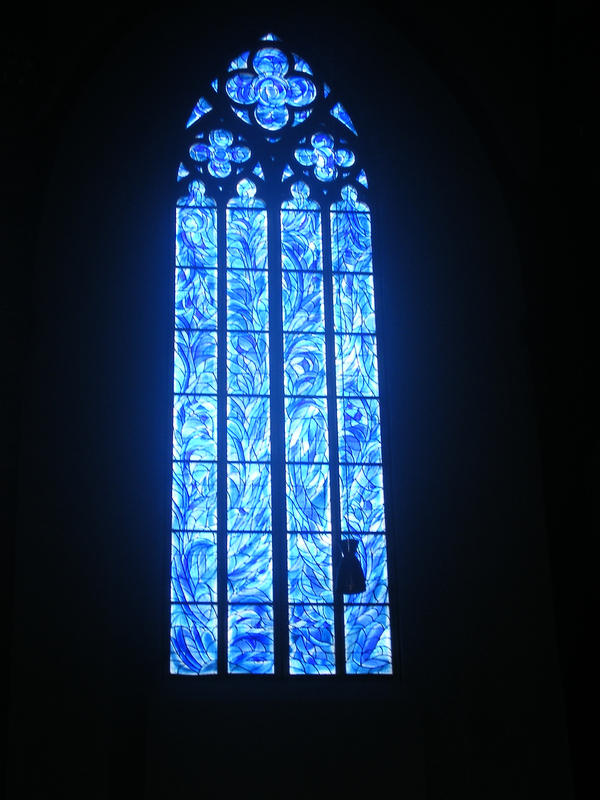 Blue Stained Glass by AmethystDreams1987