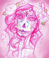 La muerte en rosa by kasbelle