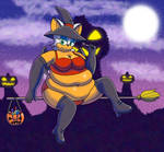 Gift - Rouge the fattest witch by SnakeJoe