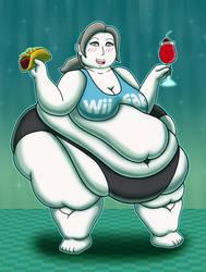 Wii Fat Trainer by SnakeJoe