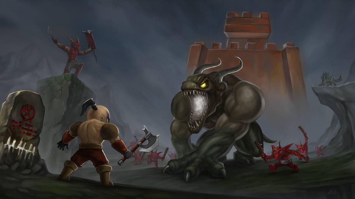 Diablo ii lord of destruction fan art by dassonean on - Diablo 2 lord of destruction wallpaper ...