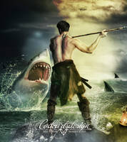 Hunting Shark by codeartworks