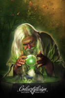 MYSTICAL GREEN by codeartworks