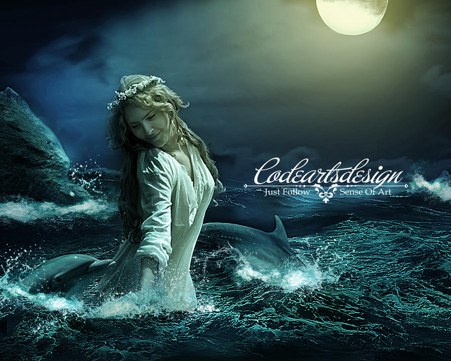 BEAUTY IN THE MOONSHINE by codeartworks