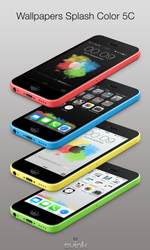 Wallpapers iOS7 LS/SB : Color Splash