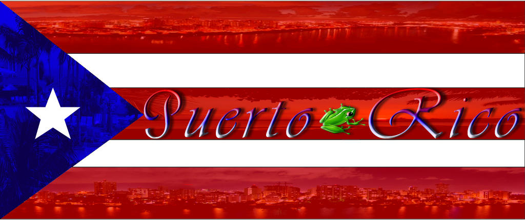 Puerto Rican Flag By Angelusnhc