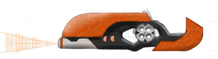 Iriktu Microwave Assault Rifle by Sciocont