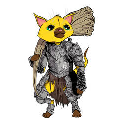 Palico in Havel Armor