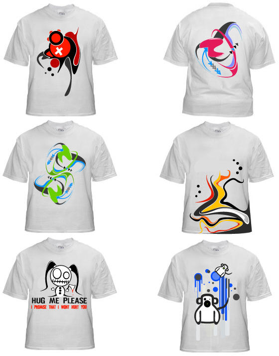 some shirt designs v1 by Shimp